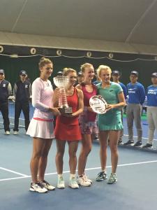 Simona Irina campioane la dublu, Shanzhen
