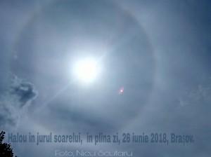 Fenomen meteo rar vazut pe cerul de deasupra Barsovului in 26 iunie 2018